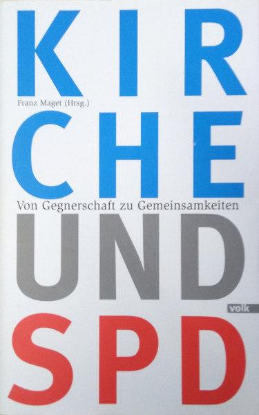 """Buchumschlag """"Kirche und SPD"""""""